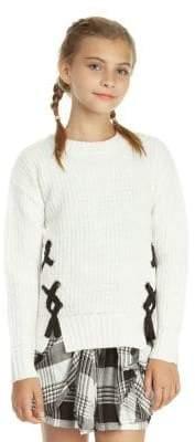 Dex Girl's Long-Sleeve Sweater