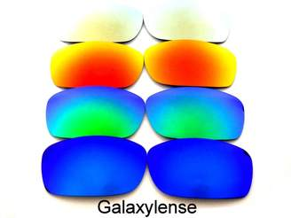 Oakley Galaxylense Galaxy Replacement Lenses for Fives Squared Color Polarized 4 Pairs,FREE S&H.