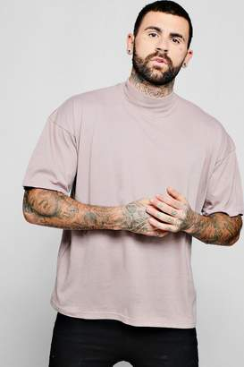 boohoo Loose Fit Turtle Neck T-Shirt