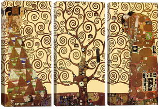iCanvas The Tree of Life Giclee Print Canvas Triptych