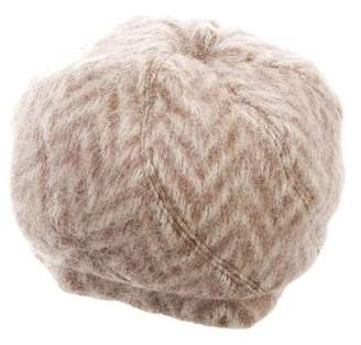 Eugenia Kim Patterned Mohair Hat