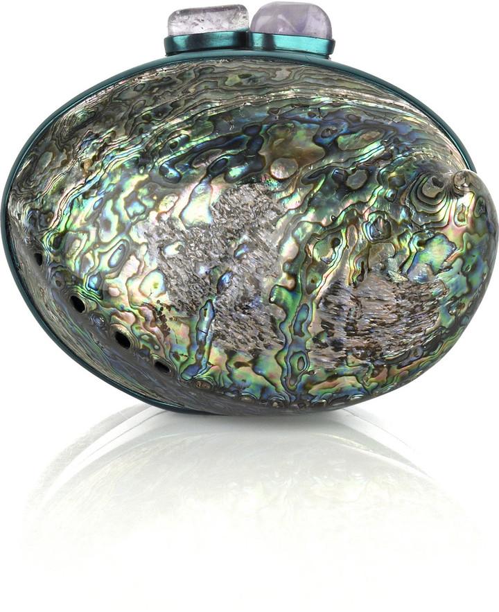 Celestina Rainbow paua shell bag
