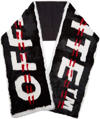 Off-White Off White Industrial Rabbit Scarf