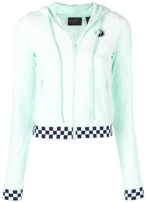 FENTY PUMA by Rihanna zip front racing jacket