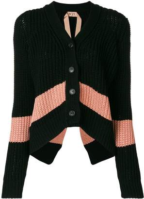 No.21 slouchy cropped cardigan