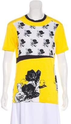 Prabal Gurung Short Sleeve Crew Neck T-Shirt