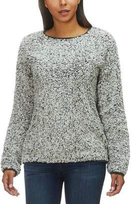 Dylan Frosty Tipped Drop Shoulder Crew Pullover - Women's