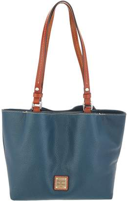 Dooney & Bourke Pebble Leather Small Flynn Tote