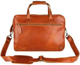 Buffalo David Bitton Mahi Leather Compact Leather Satchel Bag In Tan