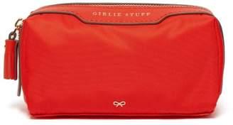 Anya Hindmarch Girlie Stuff Zip Top Washbag - Womens - Red