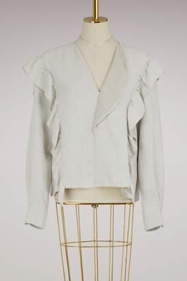 Etoile Isabel Marant Linen Wally blouse
