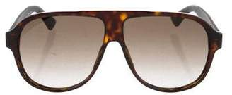 Gucci Gradient Tortoiseshell Sunglasses w/ Tags