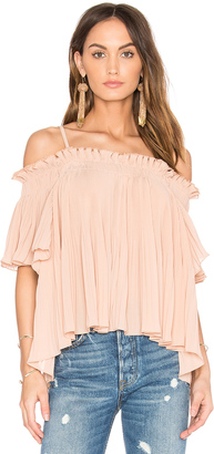 Endless Rose Off the Shoulder Top $70 thestylecure.com