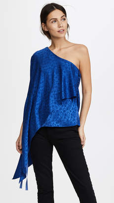 Hellessy Xenia Off Shoulder Cape Top