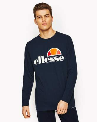 Ellesse Men's Grazie Longsleeved Graphic T-Shirt
