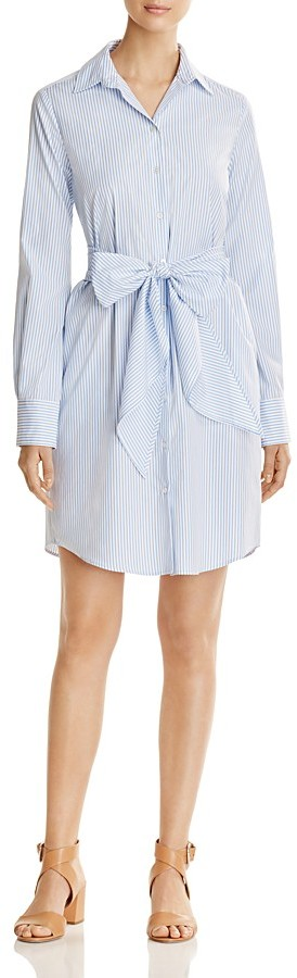 Max MaraWeekend Max Mara Reus Striped Poplin Shirt Dress - 100% Exclusive