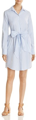 Weekend Max Mara Reus Striped Poplin Shirt Dress - 100% Exclusive $375 thestylecure.com