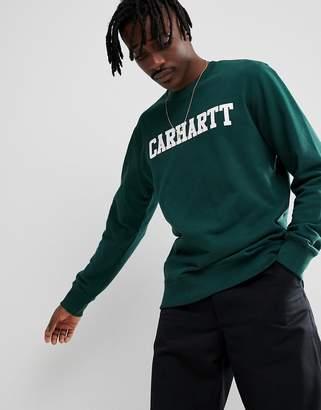 Carhartt WIP College Sweatshirt In Green