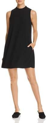 Eileen Fisher Silk A-Line Mini Shift Dress