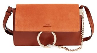 Chloe Small Faye Leather Shoulder Bag - Brown $1,390 thestylecure.com