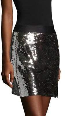 Nanette Lepore Showtime Sequin Mini Skirt