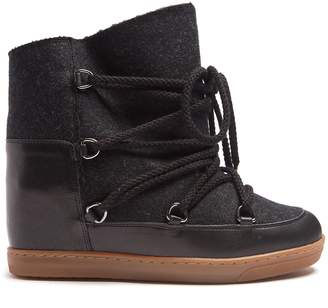 Isabel Marant Nowles shearling-lined après-ski boots