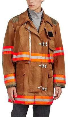Calvin Klein Men's Washed Cotton Canvas Firefighter Jacket