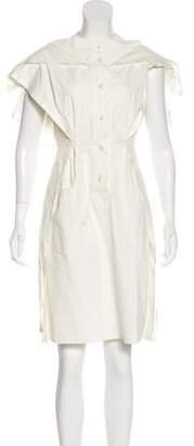 Marc Jacobs Sleeveless Button-Up Dress