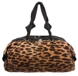 Lanvin Ponyhair Duffel Bag