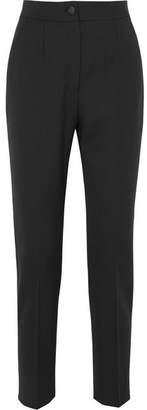 Dolce & Gabbana Wool-blend Straight-leg Pants - Black
