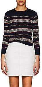 Etoile Isabel Marant Women's Charleen Mixed-Striped Knit sweater-Navy