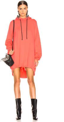 Cotton Citizen Milan Hoodie Dress in Hibiscus   FWRD