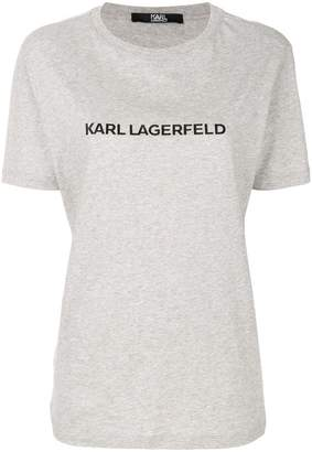 Karl Lagerfeld printed relaxed fit T-shirt