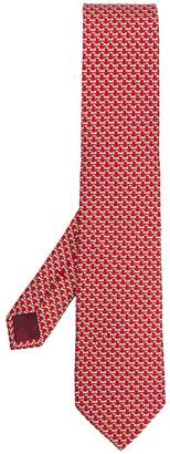 Salvatore Ferragamo Dog print tie