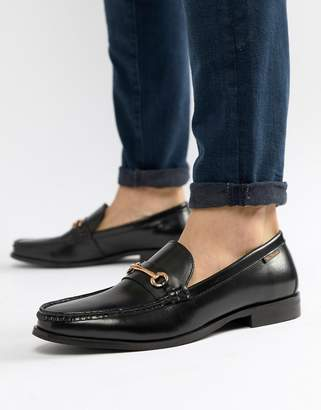Ben Sherman Luca Loafers In Black Leather