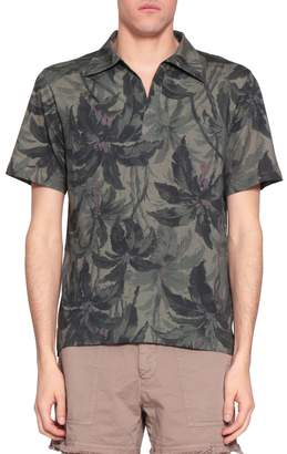 Dries Van Noten Heappr Cotton Polo Shirt