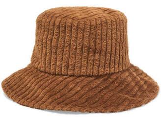 Helen Kaminski Albus Lumen Isa Corduroy Bucket Hat - Brown