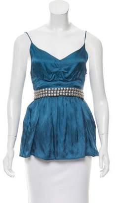 See by Chloe Sleeveless Embellished Top
