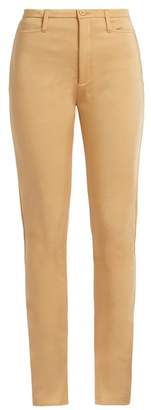 Balenciaga High Rise Scuba Jersey Leggings - Womens - Beige