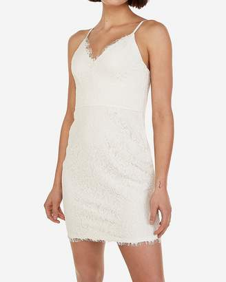 Express Lace Sheath Dress