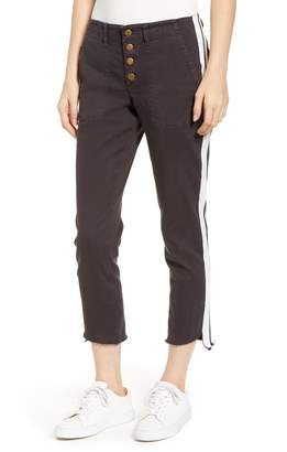 Pam & Gela Side Stripe Step Hem Pants