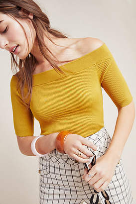 Anthropologie Minuet Off-the-Shoulder Top