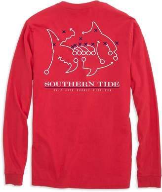 Southern Tide Skipjack Play Long Sleeve T-shirt - University of Mississippi