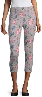 MIXIT Mixit Side Slit Capri Womens Legging