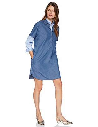 J.Crew Mercantile Women's Short Sleeve Chambray Shirtdress