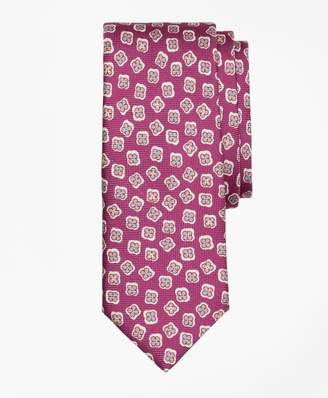 Brooks Brothers Panama Tossed Flower Print Tie