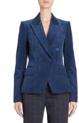 Stella McCartney Corduroy Double Breasted Blazer