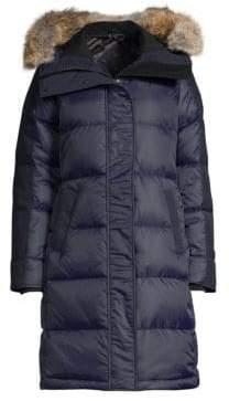 Canada Goose Black Label Rowley Fur-Trimmed Down Parka