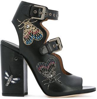 Laurence Dacade Nelen sandals $1,140 thestylecure.com