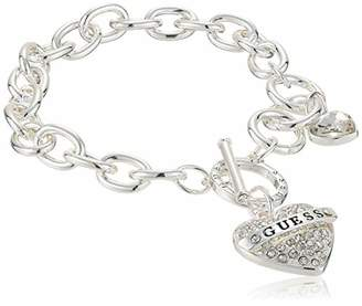 GUESS Women's Toggle Charm Bracelet
